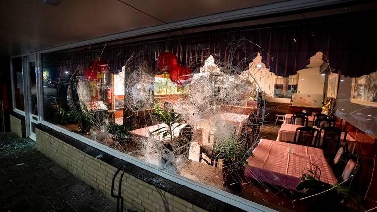 In Oosterhout zijn vernielingen aangericht op verschillende plekken. Foto: SQ Vision