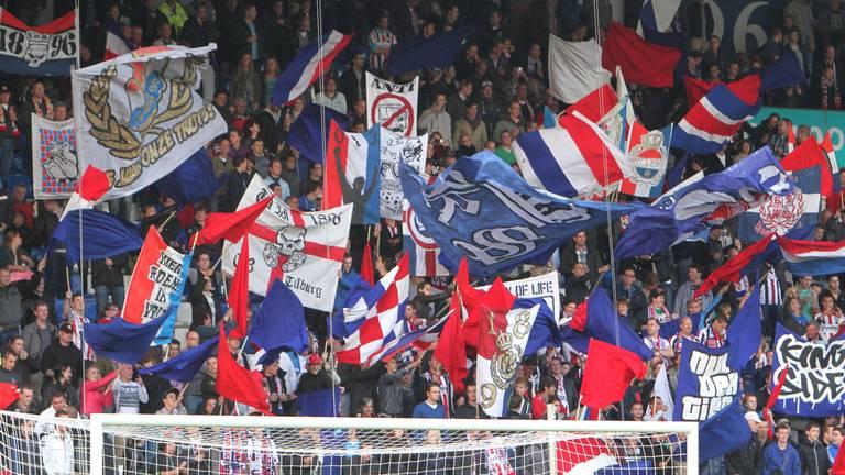 Willem II-fans stonden maandag voor de rechter (foto: archief).