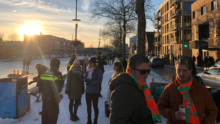 Drukte zaterdag in Tilburg (foto: Omroep Brabant).