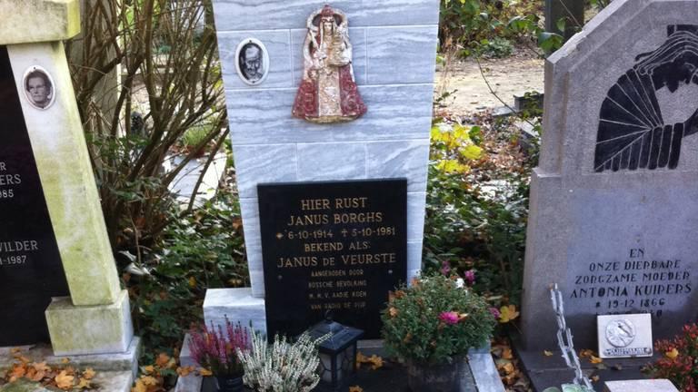 Het graf van Janus Kiep (foto: archief).