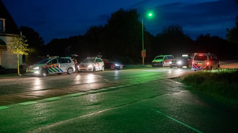 Politie rukte fors uit na de melding (foto: Christian Traets/SQ Vision Mediaprodukties).