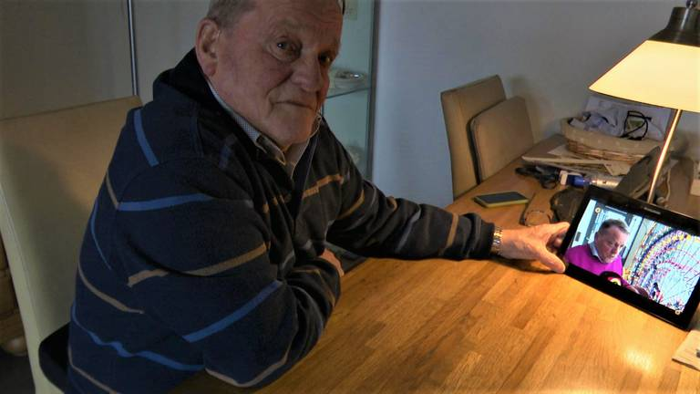 'Opa K'NEX' Anton van der List. (foto: Raoul Cartens)