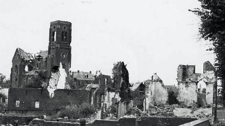 Hedel in 1945 (foto: Regionaal Archief Rivierenland)