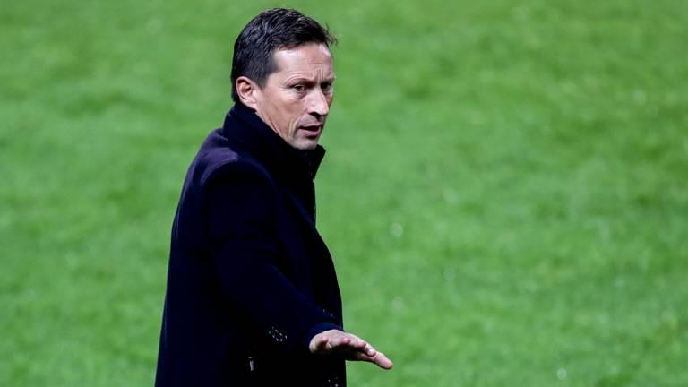 PSV-trainer Roger Schmidt (foto: Orange Pictures).
