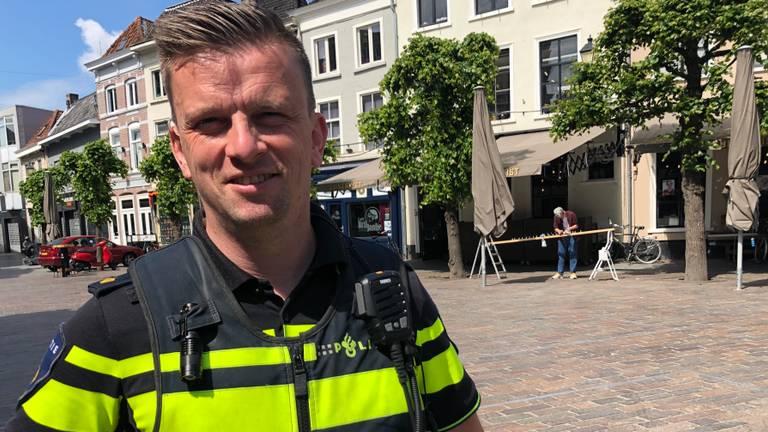 Rob Verhoeven, horeca-expert van de politie Breda.