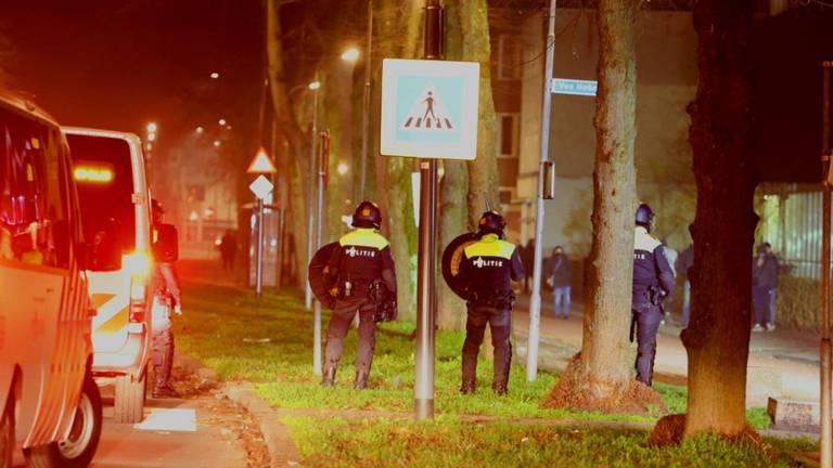 Er was veel politie op de been (foto: Bart Meesters/Meesters Multi Media/SQ Vison Mediaprodukties).