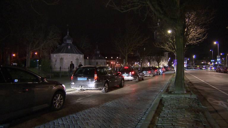 De taxistandplaats aan de Nieuwe Prinsenkade in Breda.