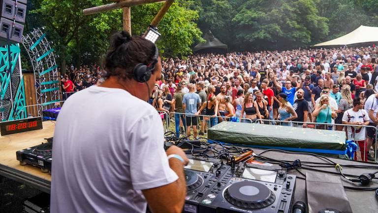 Festival Harmony of Hardcore, afgelopen weekend. (Foto: Marcel van Dorst/SQ Vision)