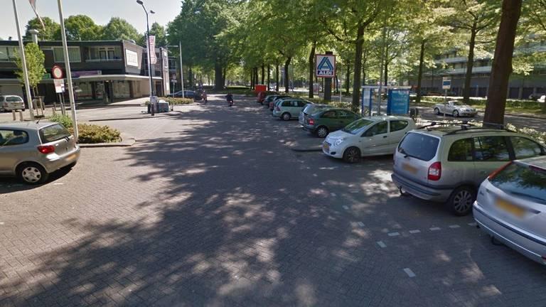 Het Verdiplein in Tilburg (beeld: Google Streetview).
