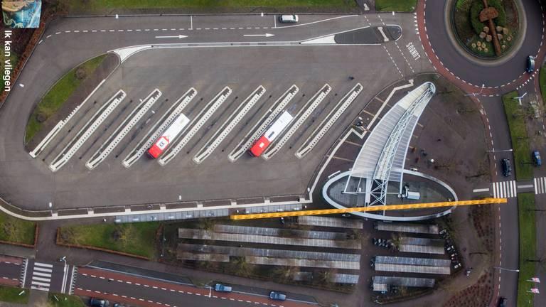 Busstation in Uden. (Foto: Jeroen Komen)