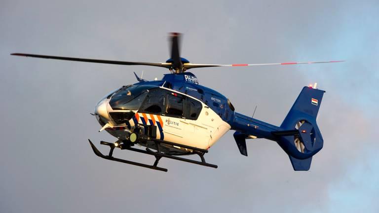 Een politiehelikopter. (Foto: ANP)