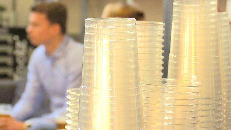 De BeerMate werd speciaal voor het PSV-publiek omgebouwd voor halve liters