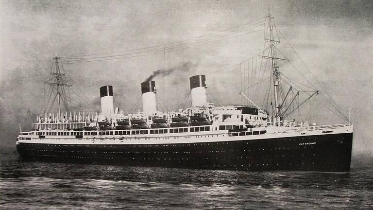 Cap Arcona (foto: wikipedia).
