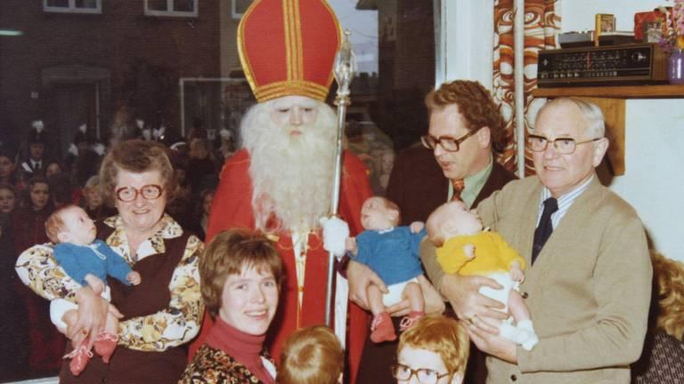 Vroeger waren de gezinnen in Esch groter, zeker het gezin dat een drieling kreeg.