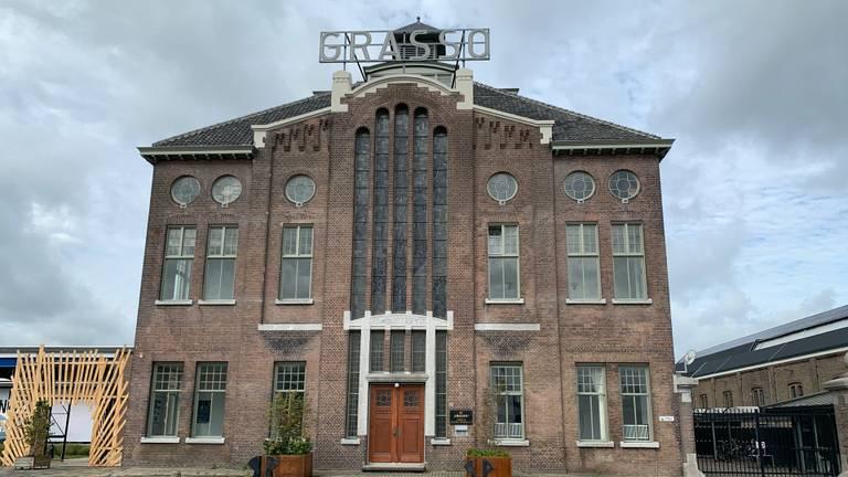 Het Grasso-gebouw wordt de blikvanger van het 'innovatiedistrict'. (Foto: Jessica Ranselaar)