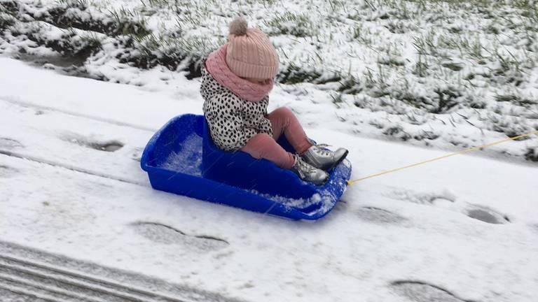 Sneeuwpret (foto: Lenie).