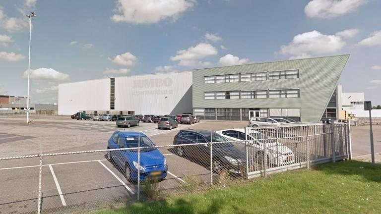 Het voormalige distributiecentrum van Jumbo in Veghel.