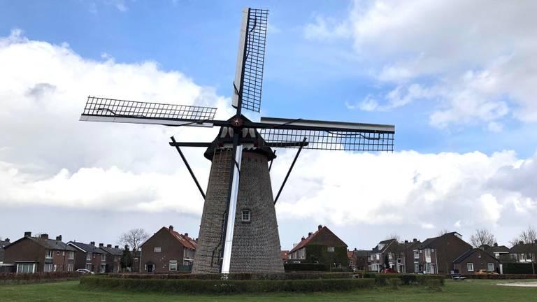 De molen in Hapert (foto: Omroep Brabant).