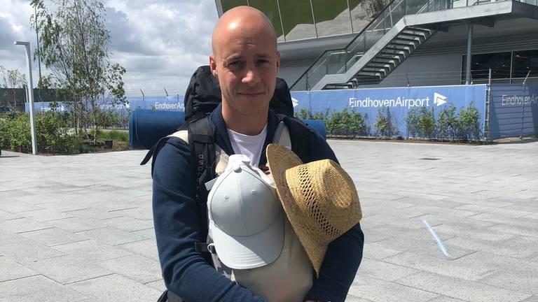 Marc uit Drunen gaat drie maanden naar Portugal (foto: Imke van de Laar)