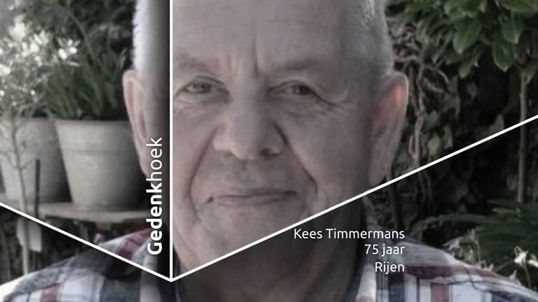 Kees Timmermans zat niet bij de pakken neer.