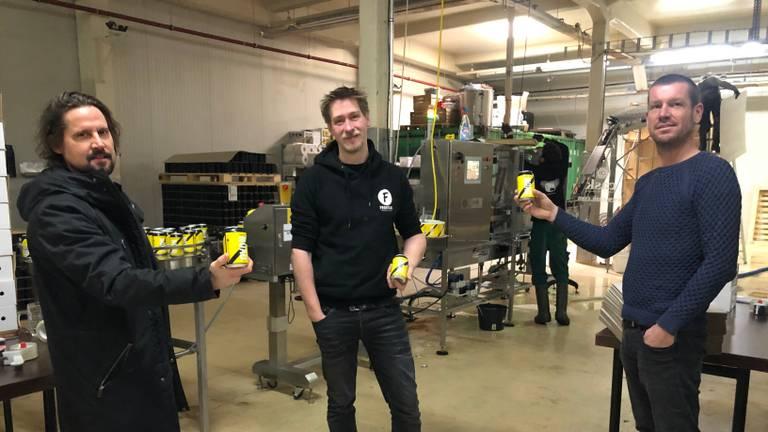De makers van NOAD Blond: Reijer van Kasteren, Roel Buckens en Tom Cosijn.