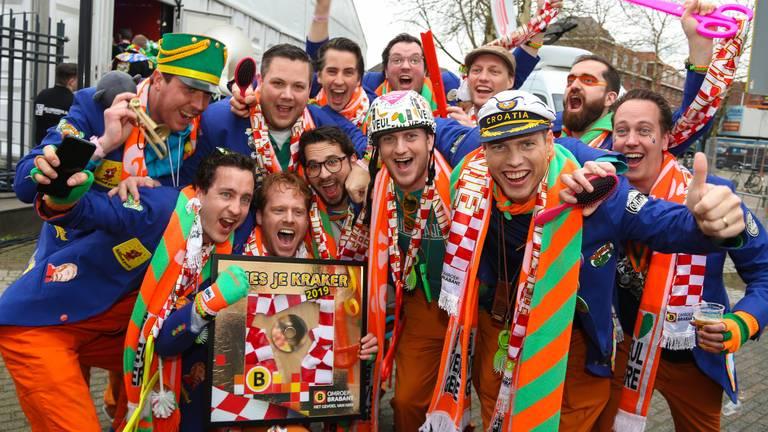 Initiatiefnemers Veul Gère brachten Brabantse carnavalsartiesten bij elkaar