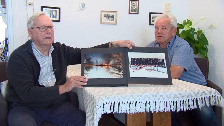 Martien (links) en Kees kijken terug naar eerdere Peelbranden