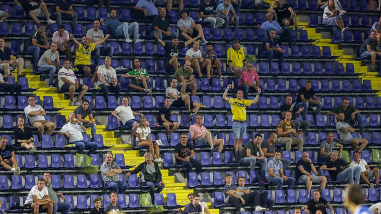 Eerder dit seizoen was er wel nog publiek bij de wedstrijd NAC - FC Den Bosch (Foto: OrangePictures)