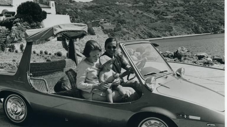 Koning Willem-Alexander zat als kindje al in de DAF Kini