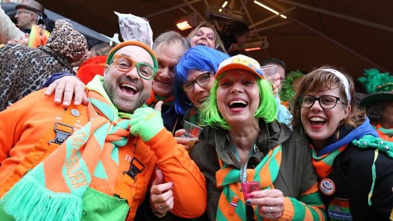 Carnaval in Tilburg (foto: Omroep Brabant).