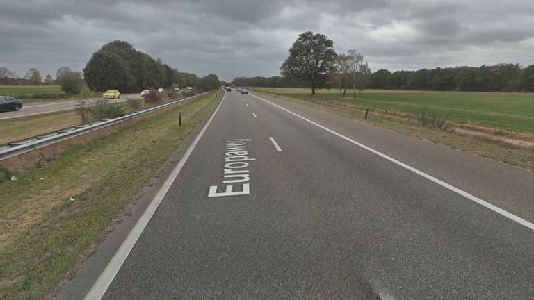 De Europaweg in Helmond (beeld: Google Streetview).