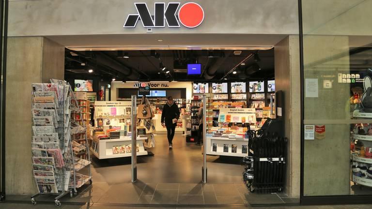 Een van de vestiging van boekenzaak AKO (archieffoto: Karin Kamp).
