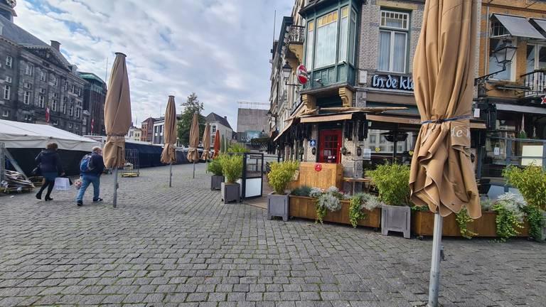 Kaasboer Ruben Duijts mist de horeca in de stad (foto: Noël van Hooft)
