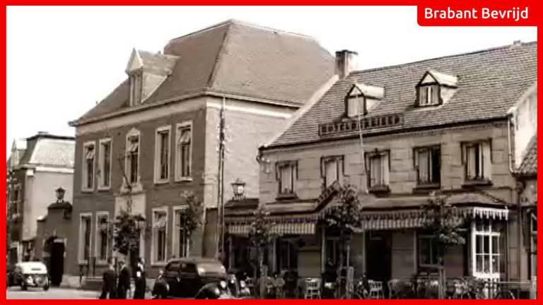 Het Ridderplein in Gemert.