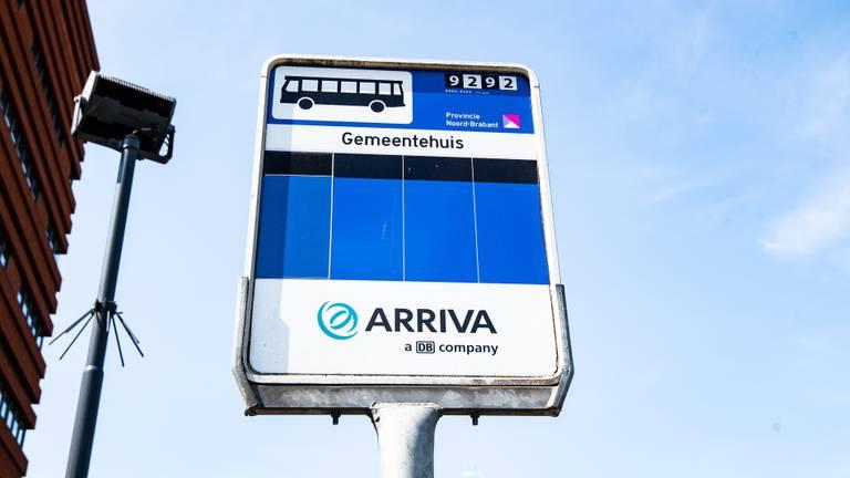 Arriva bushalte (archieffoto: Kevin Cordewener).