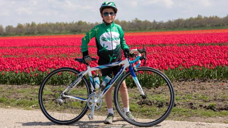 Stiekem hoopt Mats ooit professioneel wielrenner te worden (foto: CvCaam Fotografie).