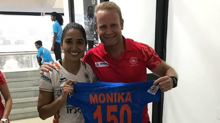 Sjoerd Marijne is hockeycoach in India (foto: Facebook Sjoerd Marijne).