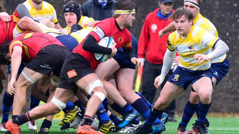 Rugbyers Dukes uit Den Bosch