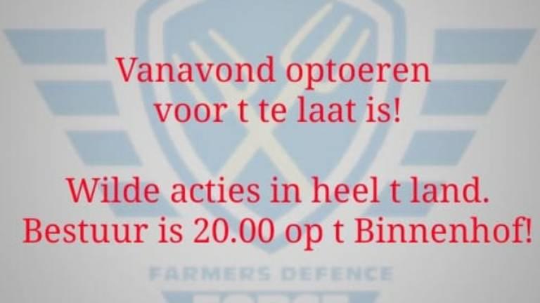 Dit plaatje is door FDF verspreid onder boeren.
