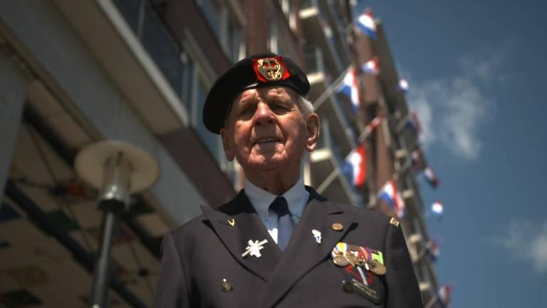 Oorlogsveteraan Theo Roeffen uit Den Bosch.