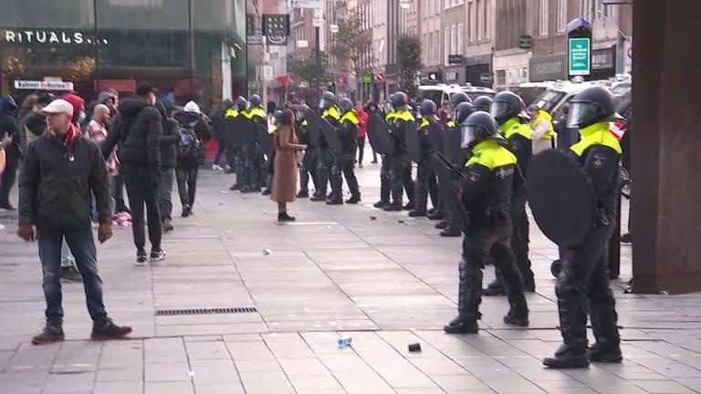 Politiemacht op de been in Eindhoven