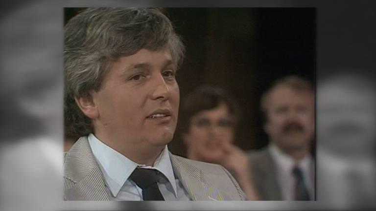 De geruchtmakende moord op platenproducer Bart van de Laar uit 1981 is eindelijk opgelost. (beeld: VARA)
