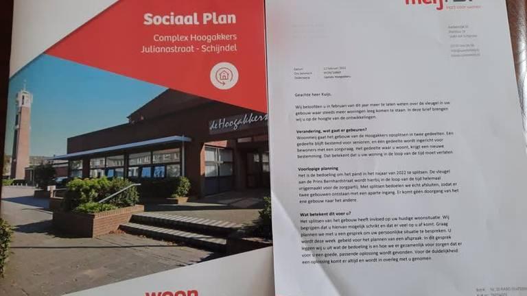 Deze brief kreeg Piet in de bus.