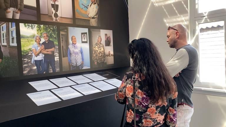 De expositie Lain Sayang Lain in barak 1B in Vught (foto: Jan Peels)