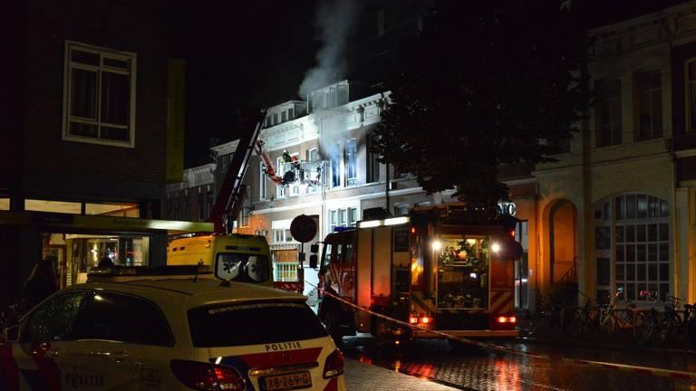 Grote brand in Breda (foto: Perry Roovers/SQ Vision Mediaprodukties).