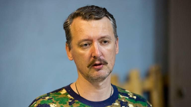 Rebellencommandant Igor Girkin (foto: ANP)