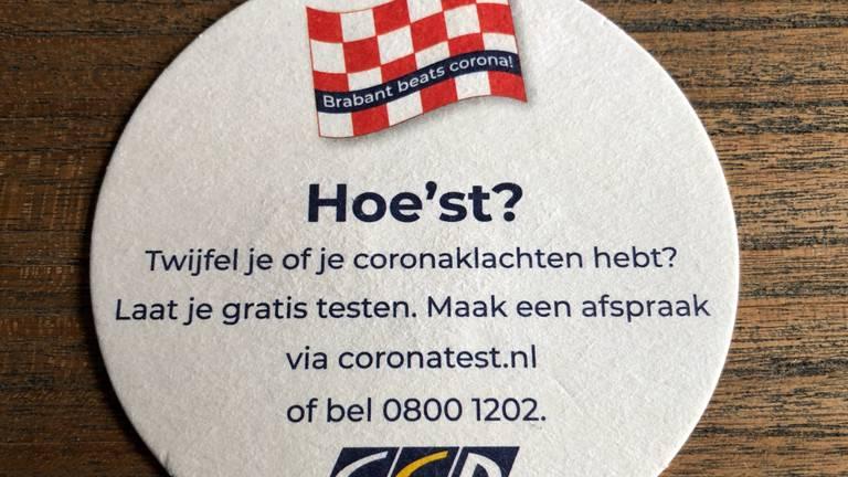 De drie Brabantse GGD's lieten 500.000 coronaviltjes drukken. (foto: Ronald Sträter)
