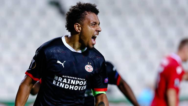 Donyell Malen scoorde twee keer (foto: OrangePictures).