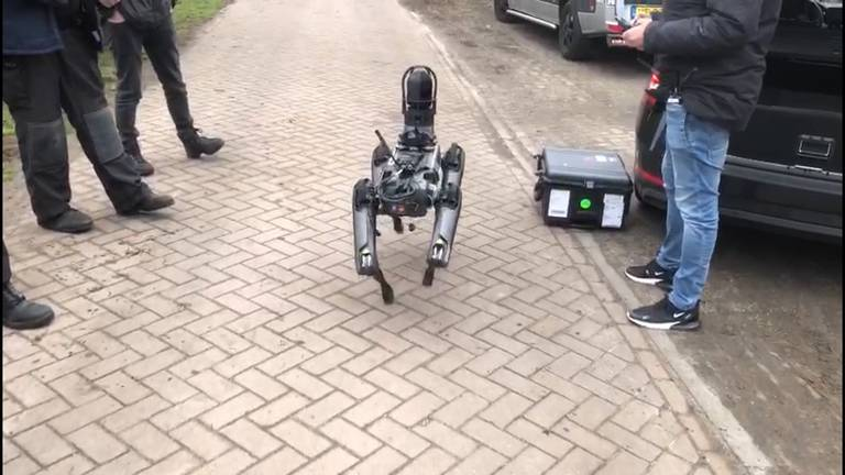 De robothond. (Beeld: Omroep Brabant).