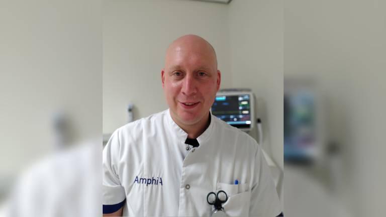 Arjan van den Broek, verpleegkundige spoedeisende hulp in het Amphia Ziekenhuis